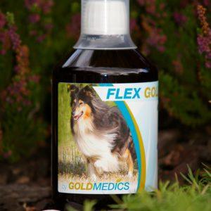 Optimalisatie van gewricht en beweging bij hond en kat:FLEXGOLD
