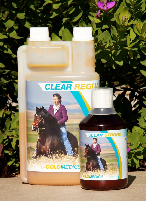 CLEAR supports the horse's liver