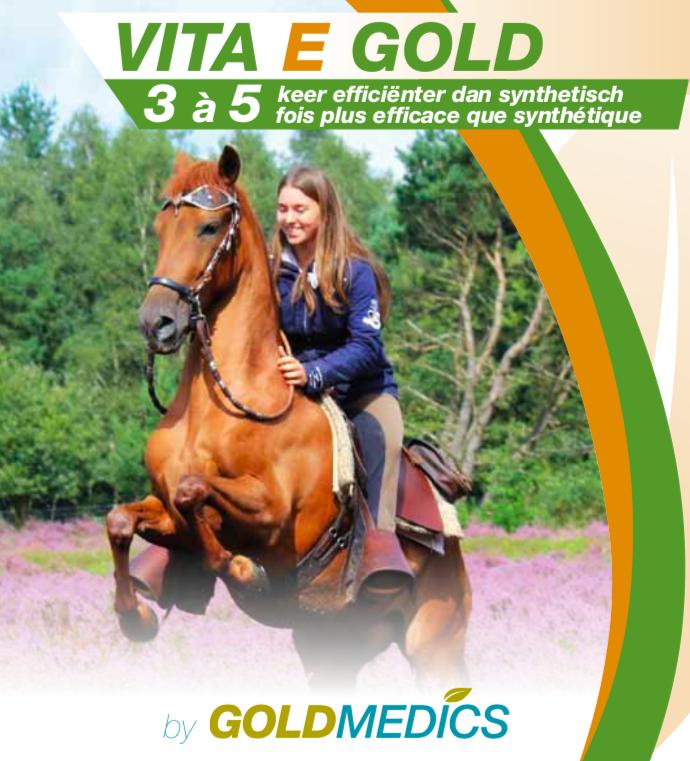 Natuurlijk Vitamine E voor paard: VITA E GOLD