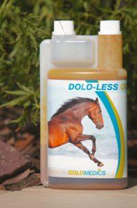Réduirel'inflammation et la douleur chez le cheval:  DOLO-LESSGOLD