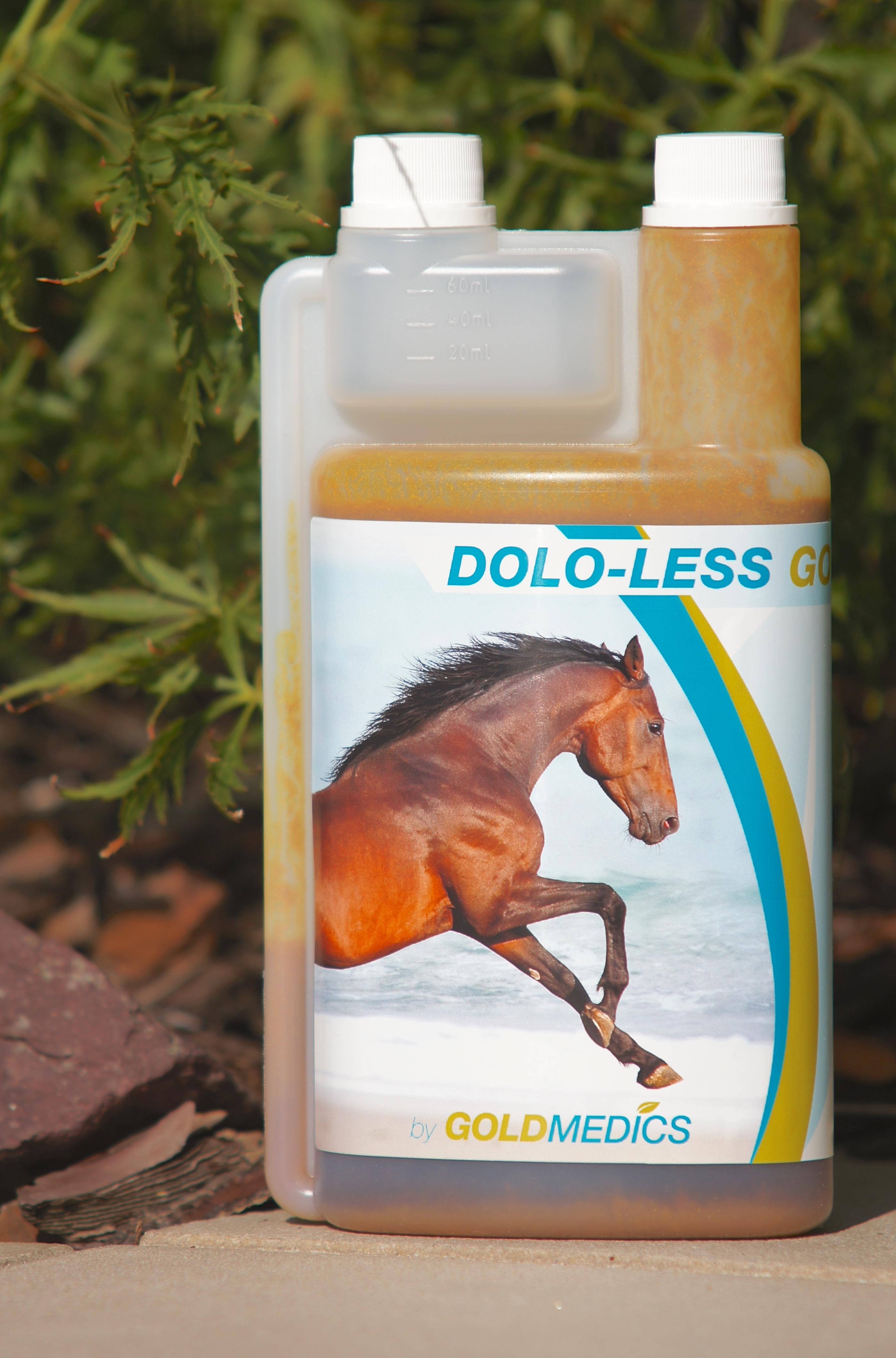 Ontsteking en pijn paard DOLO-LESS